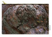Textures On A Giant Sequoia Carry-all Pouch