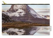 The Matterhorn Mountain In Switzerland Carry-all Pouch