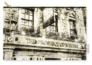 The Prospect Of Whitby Pub London Vintage Carry-all Pouch