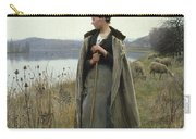 The Shepherdess Of Rolleboise Carry-all Pouch