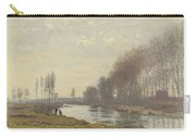 The Small Branch Of The Seine At Argenteuil Carry-all Pouch