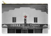 The Texas Theatre Of Bronte Texas Carry-all Pouch