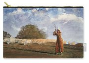The Young Shepherdess Carry-all Pouch