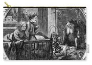 Thomas Nast: Christmas Carry-all Pouch by Granger