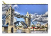 Tower Bridge And The Waverley Carry-all Pouch