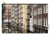 Traditional Canal Houses In Amsterdam. Netherlands. Europe Carry-all Pouch