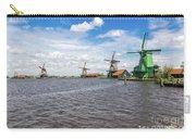 Traditional Dutch Windmills At Zaanse Schans, Amsterdam Carry-all Pouch
