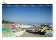 Traditional Fishing Boats On Dili Beach In East Timor Leste Carry-all Pouch