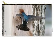 Tree Swallow Carry-all Pouch