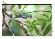 Tufted Titmouse In The Wilds Of South Carolina Carry-all Pouch