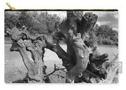 Twisted Driftwood Carry-all Pouch