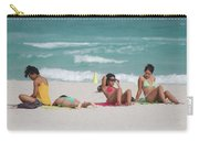 3 Up 1 Down At The Beach Carry-all Pouch