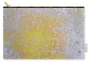 3. V2 Yellow And White Bubble Glaze Painting Carry-all Pouch