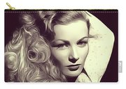 Veronica Lake, Vintage Actress Carry-all Pouch