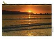 Vibrant Orange Sunrise Seascape Carry-all Pouch