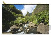 View Of Iao Needle Carry-all Pouch