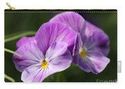 Viola Named Columbine Carry-all Pouch