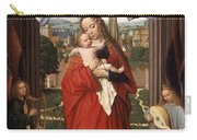 Virgin And Child With Four Angels Carry-all Pouch