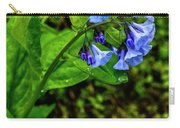 Virginia Bluebell Carry-all Pouch
