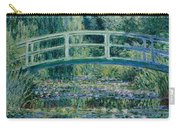 Water Lilies And Japanese Bridge Carry-all Pouch