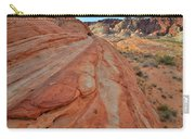Wave Of Color In Valley Of Fire Carry-all Pouch