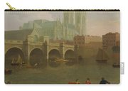 Westminster Abbey And Bridge Carry-all Pouch