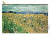 Wheat Field With Cornflowers Carry-all Pouch