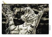 White Tiger Carry-all Pouch