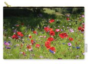 Wild Flowers Art Carry-all Pouch