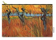 Willows At Sunset Carry-all Pouch