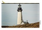 Yaquina Head Lighthouse - Toned By Texture Carry-all Pouch