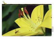 Yellow Lilys Carry-all Pouch