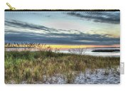 Yorktown Beach At Sunrise Carry-all Pouch