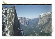 306754 Yosemite Valley From Union Point  Carry-all Pouch