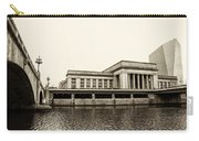 30th Street Station From The River Walk In Sepia Carry-all Pouch