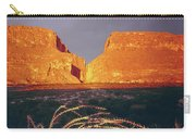 317828 Sunrise On Santa Elena Canyon  Carry-all Pouch