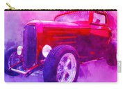 32 Highboy Watercolour Deuce On Acid Carry-all Pouch