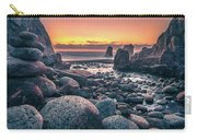 Soberanes Point Big Sur California Beautiful Sunset Carry-all Pouch