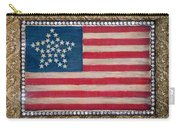 33 Star American Flag. Painting Of Antique Design Carry-all Pouch