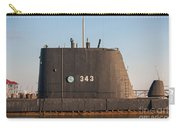 343 Uss Clamagore Diesel Carry-all Pouch