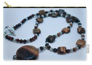 3516 Tiger Eye Necklace  Carry-all Pouch