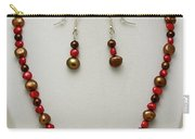 3536 Freshwater Pearl Necklace And Earring Set Carry-all Pouch