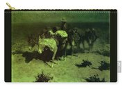 35427 Frederick Remington Carry-all Pouch