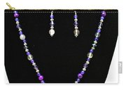 3546 Purple Veined Agate Set Carry-all Pouch