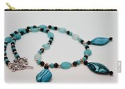 3564 Shell And Semi Precious Stone Necklace Carry-all Pouch