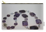 3575 Amethyst Necklace Carry-all Pouch