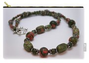 3579 Unakite Necklace  Carry-all Pouch