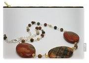 3586 Picasso Jasper Necklace Carry-all Pouch