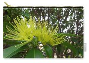 Australia - Pollinating A Green Leionema Flower Carry-all Pouch