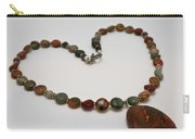 3600 Picasso Jasper Necklace Carry-all Pouch